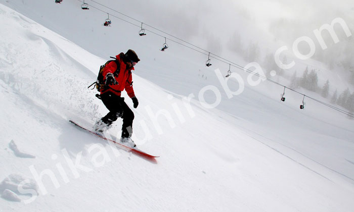 JSBA公認スノーボードバッジテスト