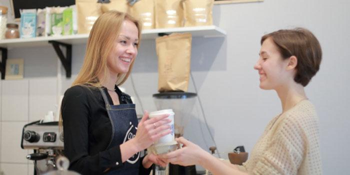バリスタとしてカフェを経営する仕事