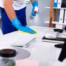衛生管理者の掃除